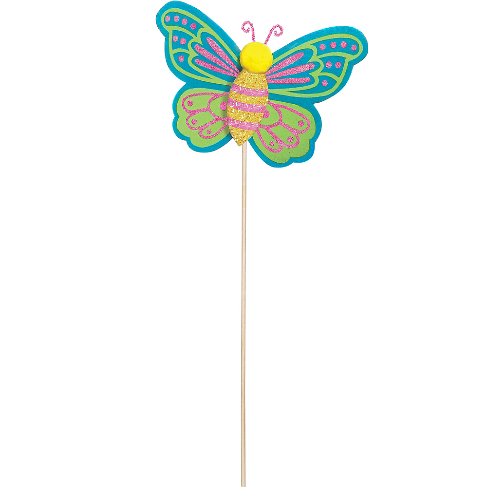 Nav Item for Glitter Spring Butterfly Yard Stake Image #1