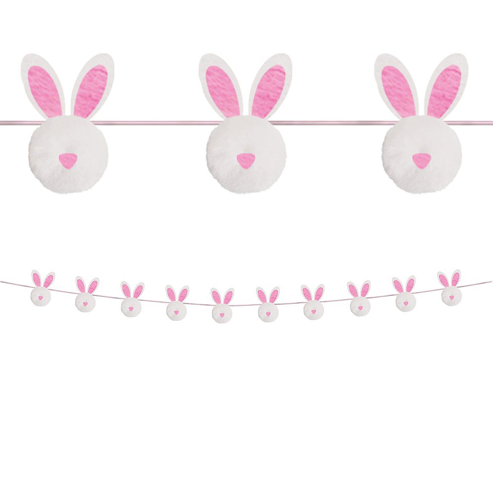 Nav Item for Bunny Pom-Pom Garland Image #1