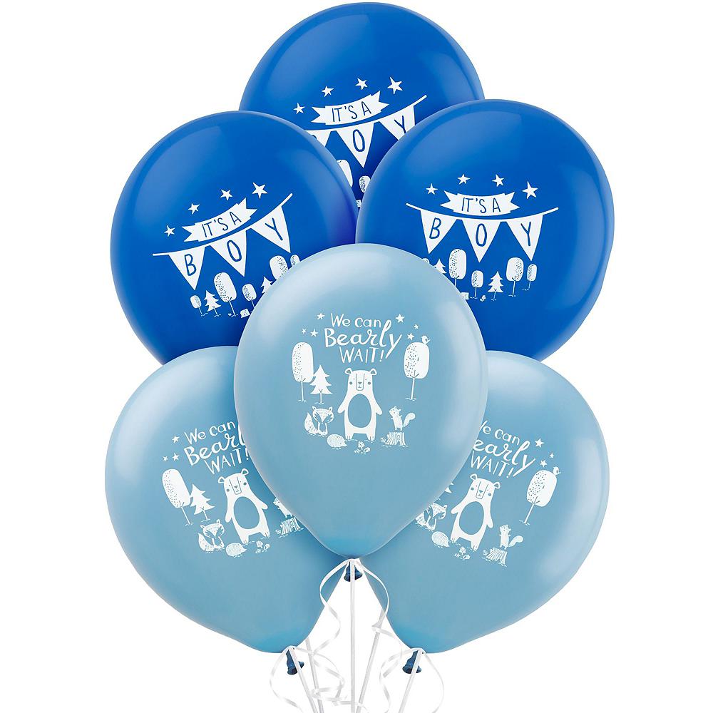 Blue Baby Shower Car Decorating Kit Image #3
