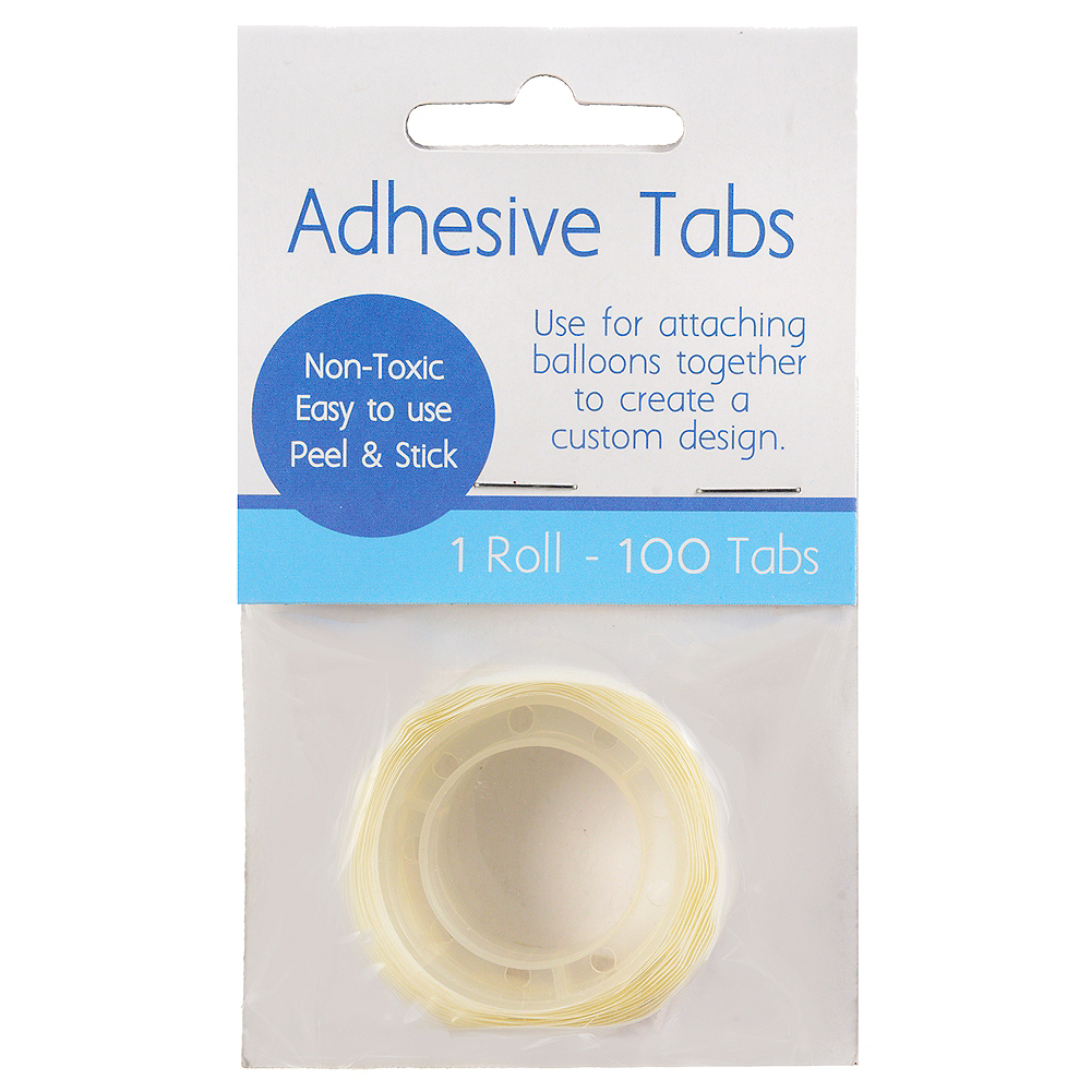 Adhesive Balloons Tabs, 0.5in, 100pc Image #1