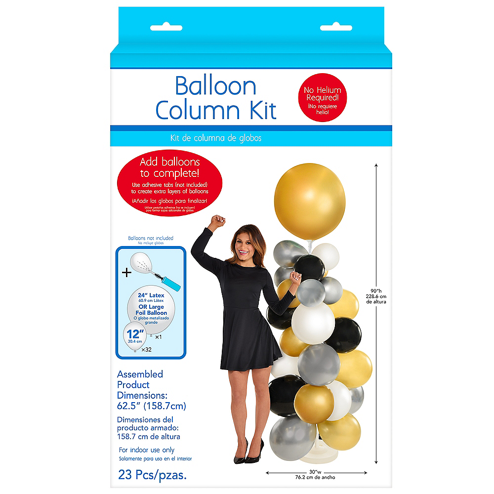 Balloon Column Base Kit, 5ft Image #1