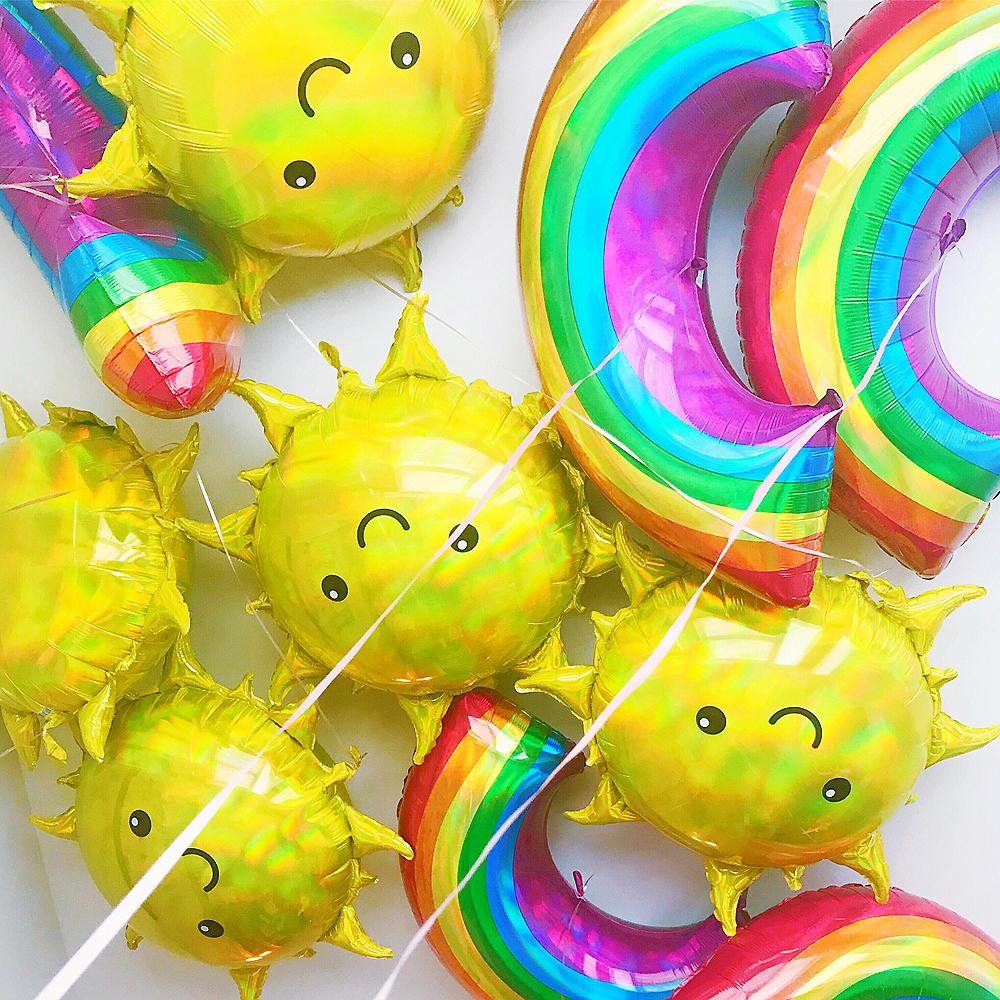 Sunshine & Rainbows Balloon Bouquet, 3pc Image #2