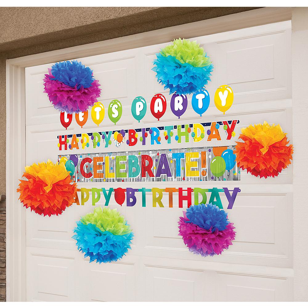 Rainbow Garage Decorating Kit Image #1