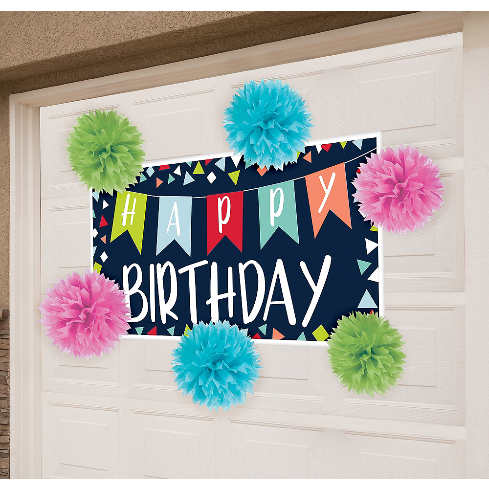 Nav Item for Reason to Celebrate Garage Birthday Party Decorating Kit Image #1
