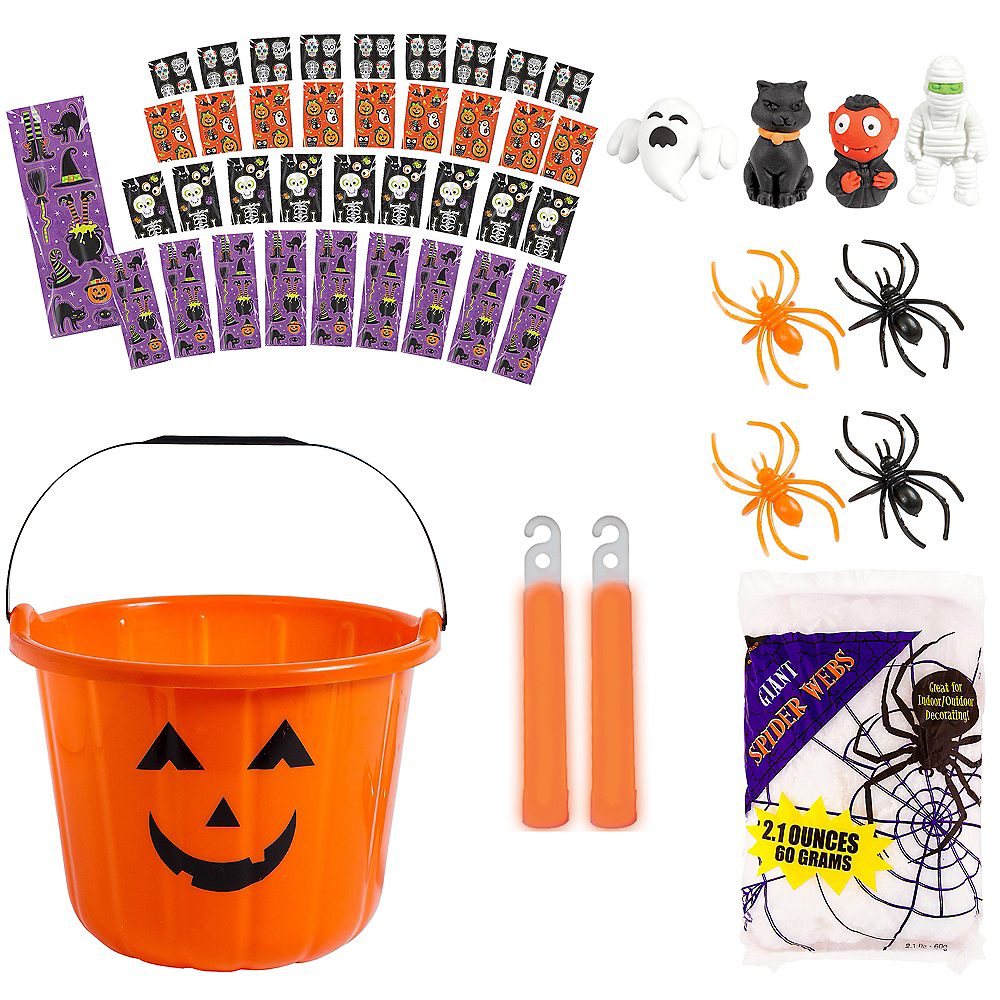 Halloween Spooky Basket Kit Image #1