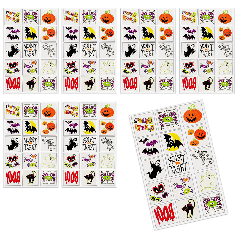 Super Halloween Spooky Basket Kits for 4 Guests Image #5