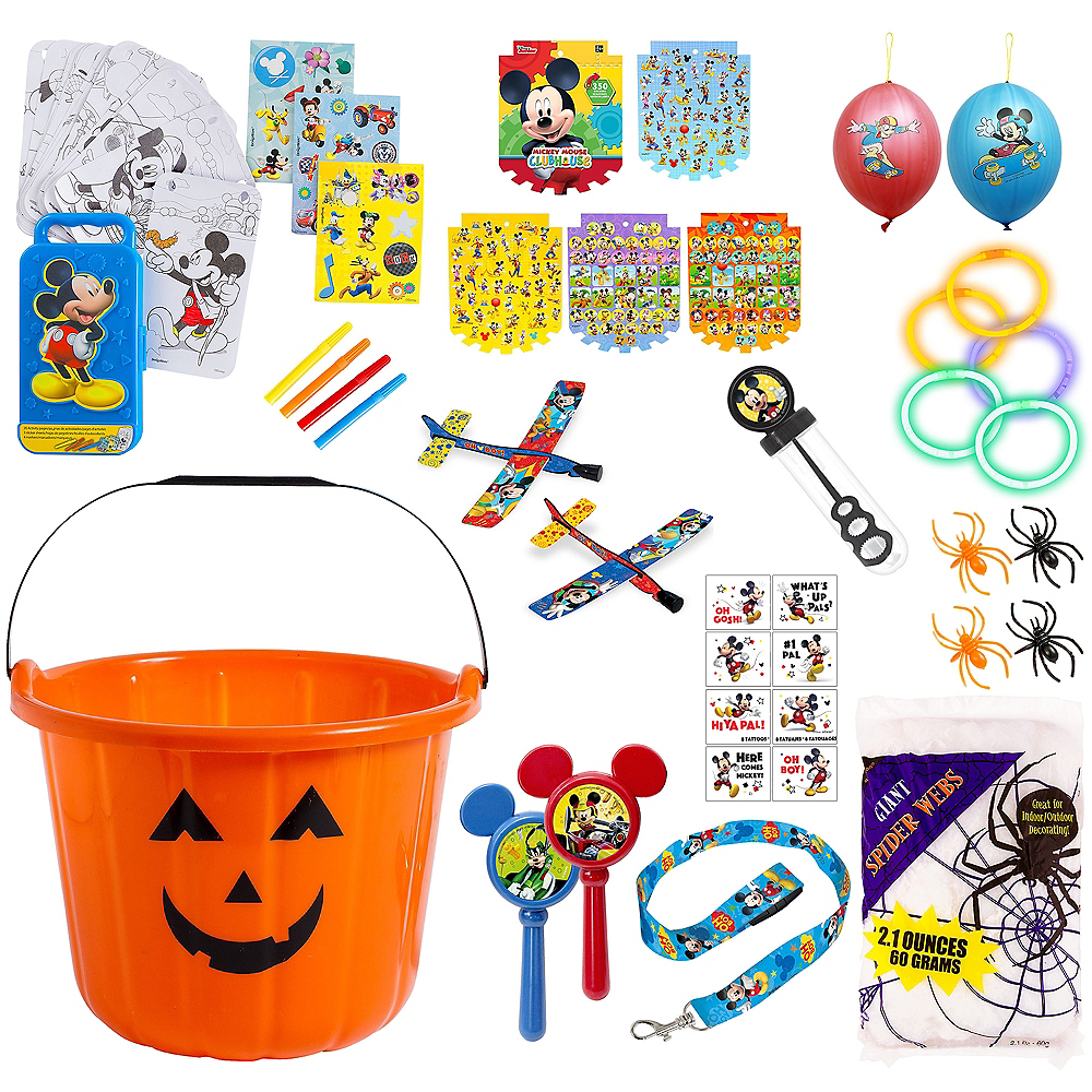 Nav Item for Mickey Mouse Spooky Basket Kit Image #1