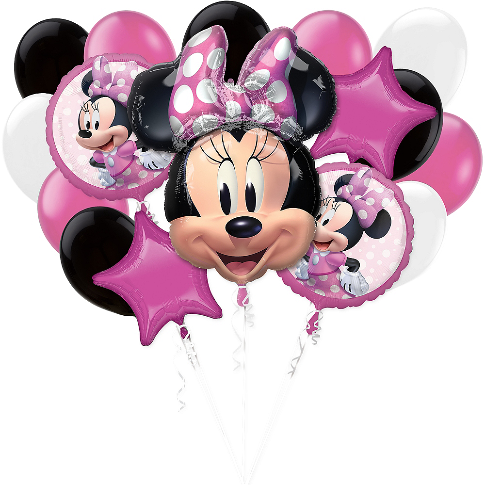 Minnie Mouse Forever Balloon Bouquet, 17pc Image #1