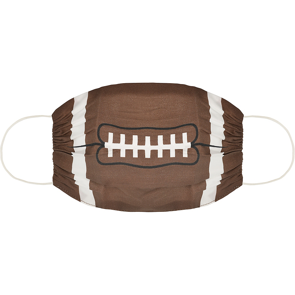 Adult Football Face Mask Image #1