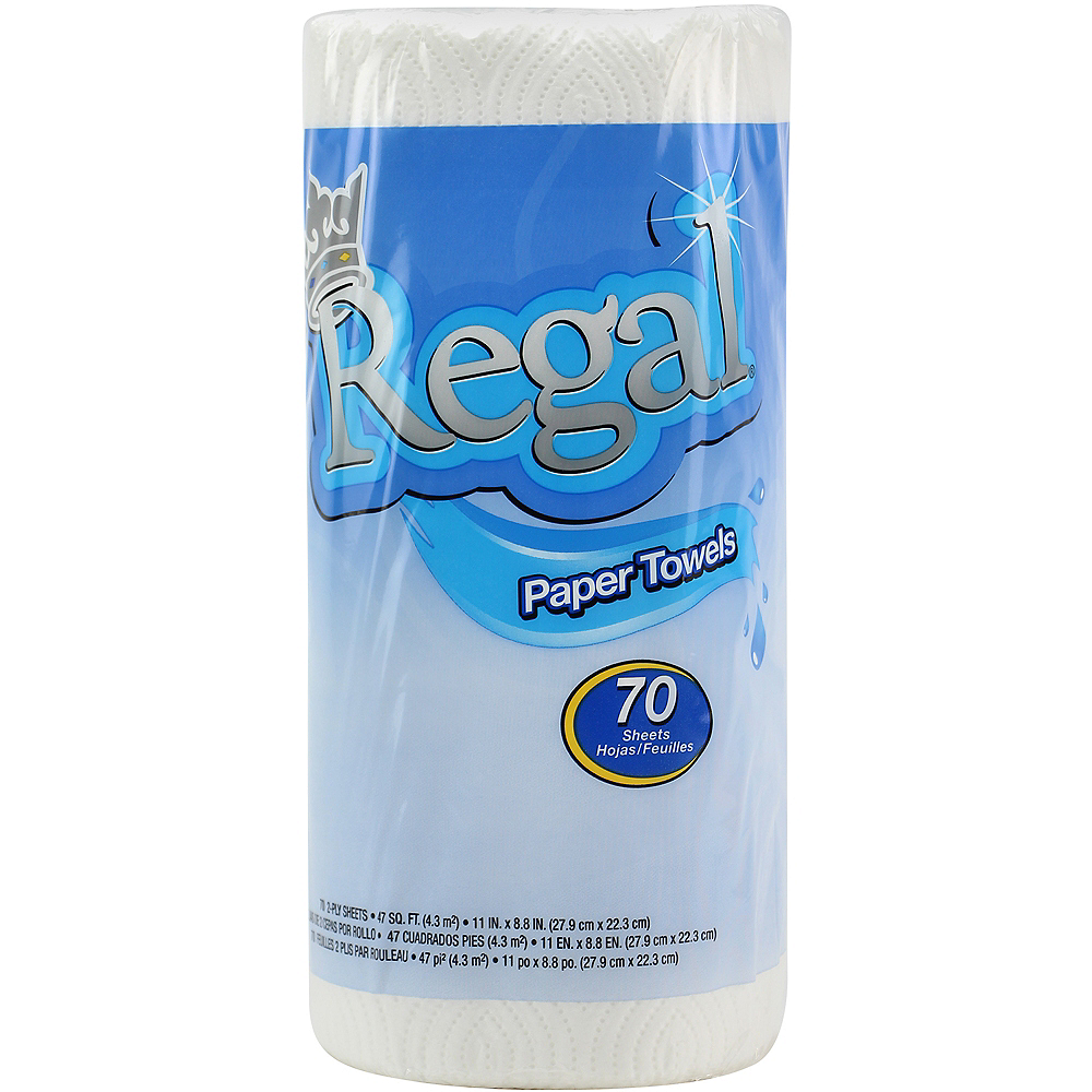 Regal 2-Ply Paper Towel Roll, 70 Sheets Image #1