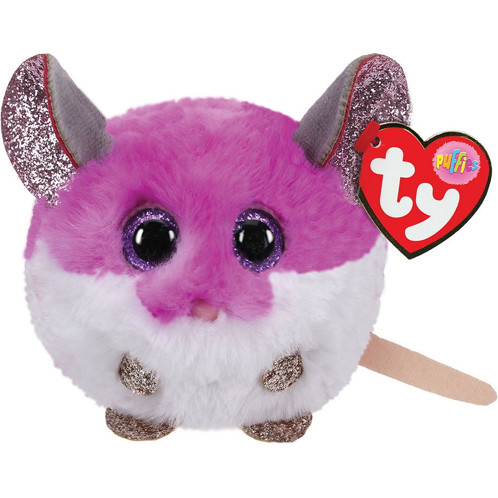 Colby Mouse Plush - Ty Puffies Image #1