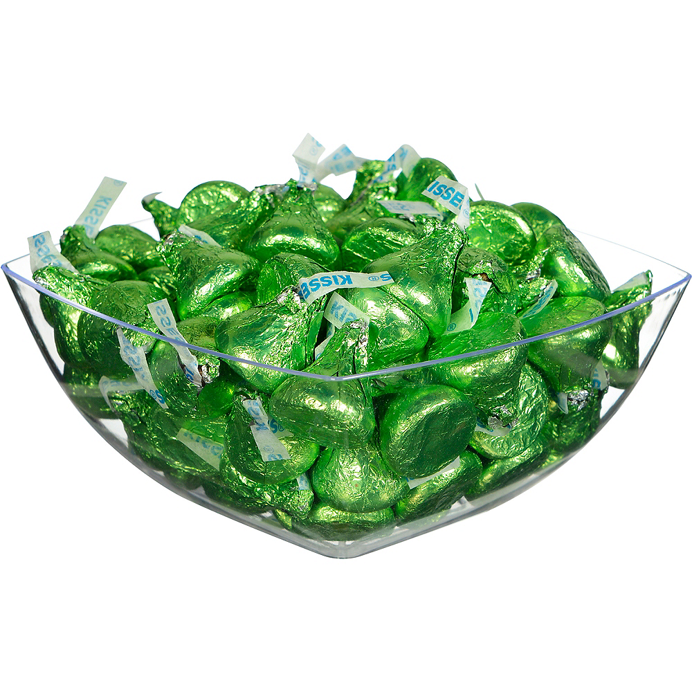 Green Milk Chocolate Hershey's Kisses, 16oz Image #2