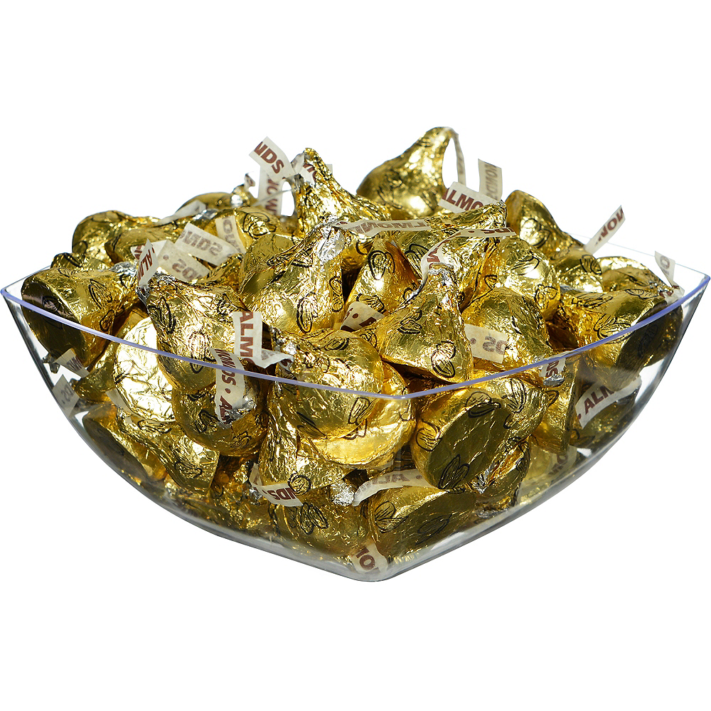 Gold Milk Chocolate Hershey's Kisses, 16oz Image #2