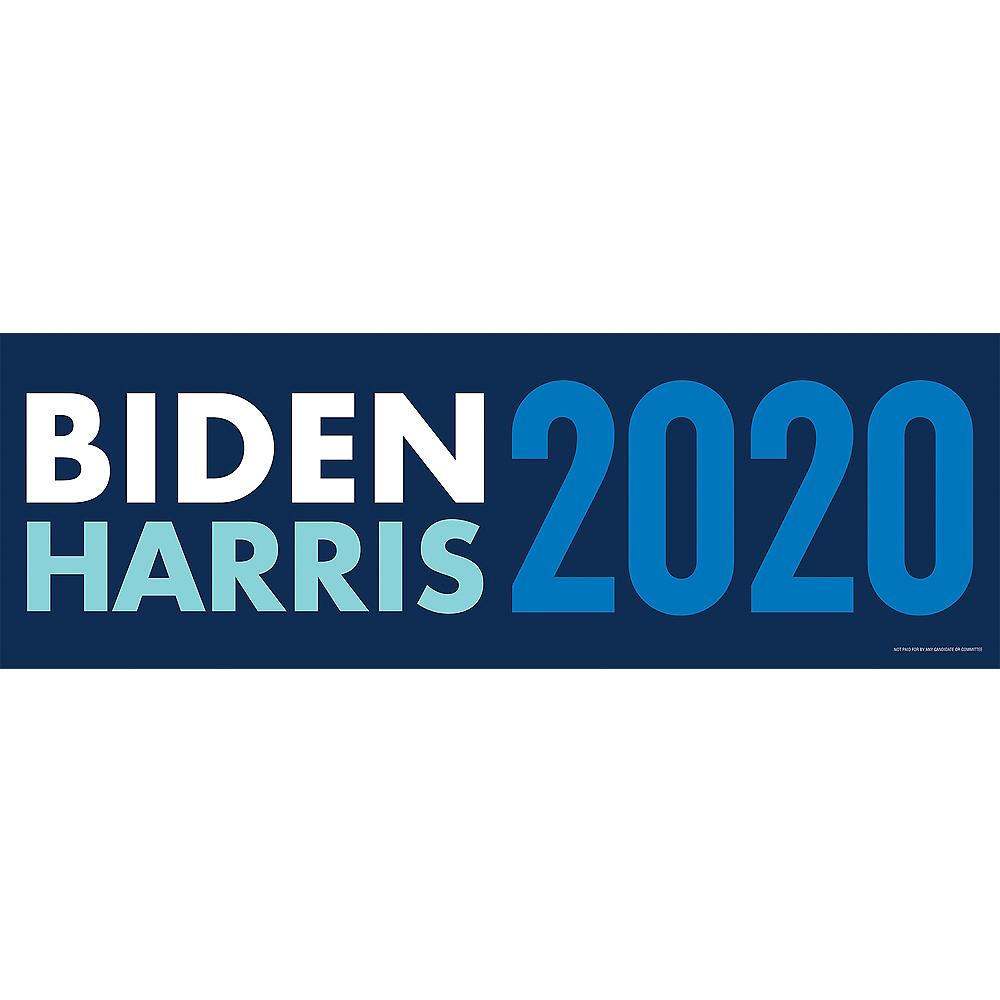 Blue Biden & Harris 2020 Election Horizontal Banner Image #1