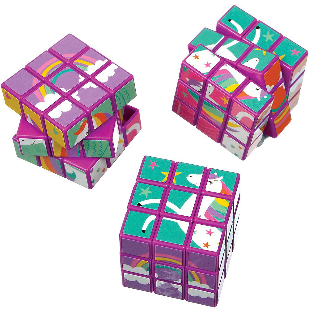 Unicorn Puzzle Cubes 12ct Image #1