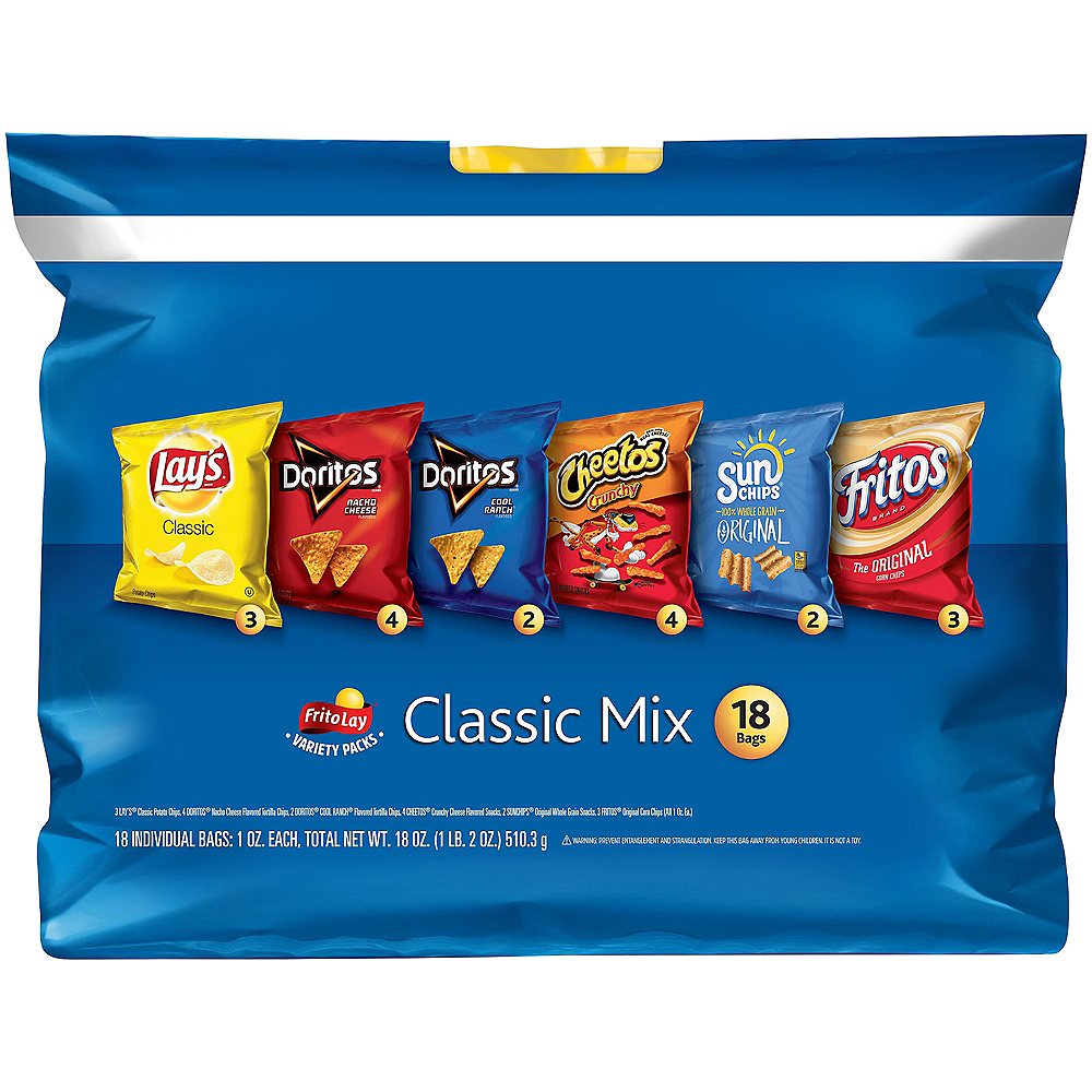 Frito-Lay Variety Pack Classic Mix, 18ct Image #1