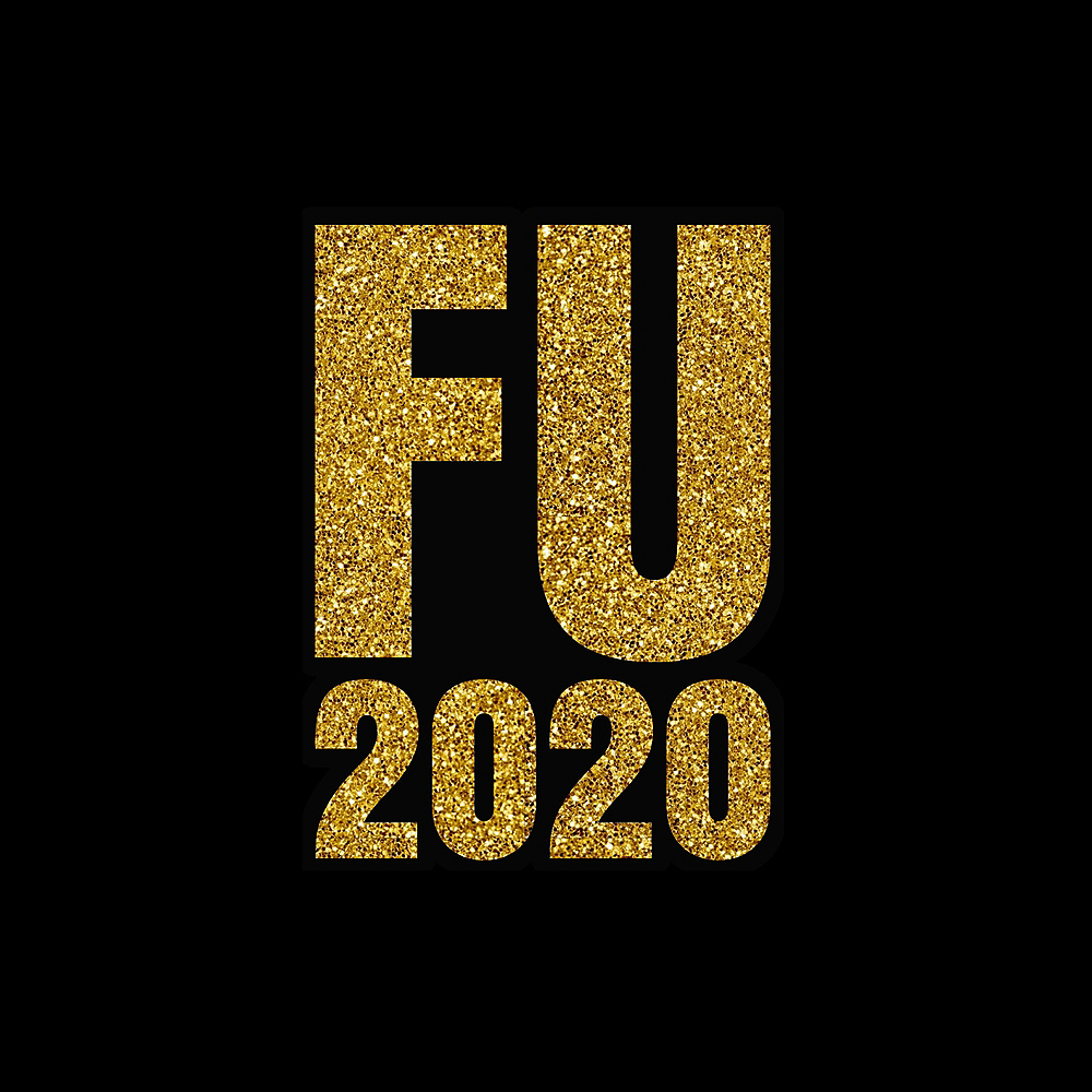 FU 2020 New Year's Face Mask for Adults Image #2