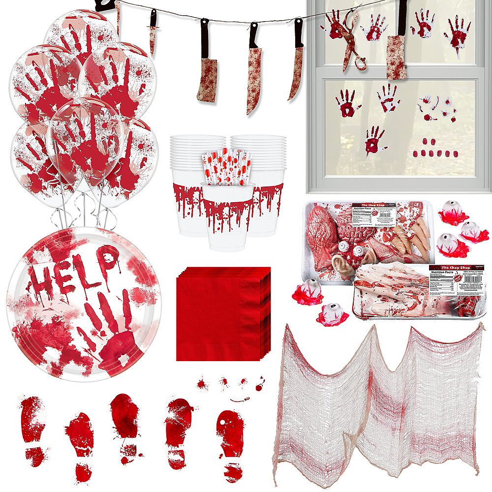 Bloody Party Kit for 18 Guests Image #1