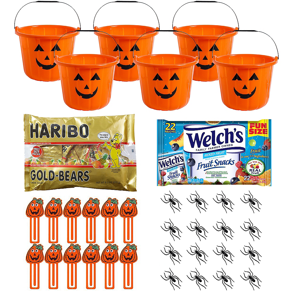 Pumpkin Halloween Boo Kit for 6 Guest Image #1
