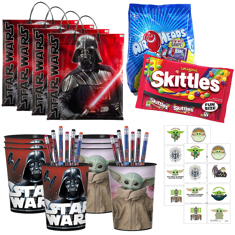Star Wars Halloween Boo Kit for 4 Guest Image #1