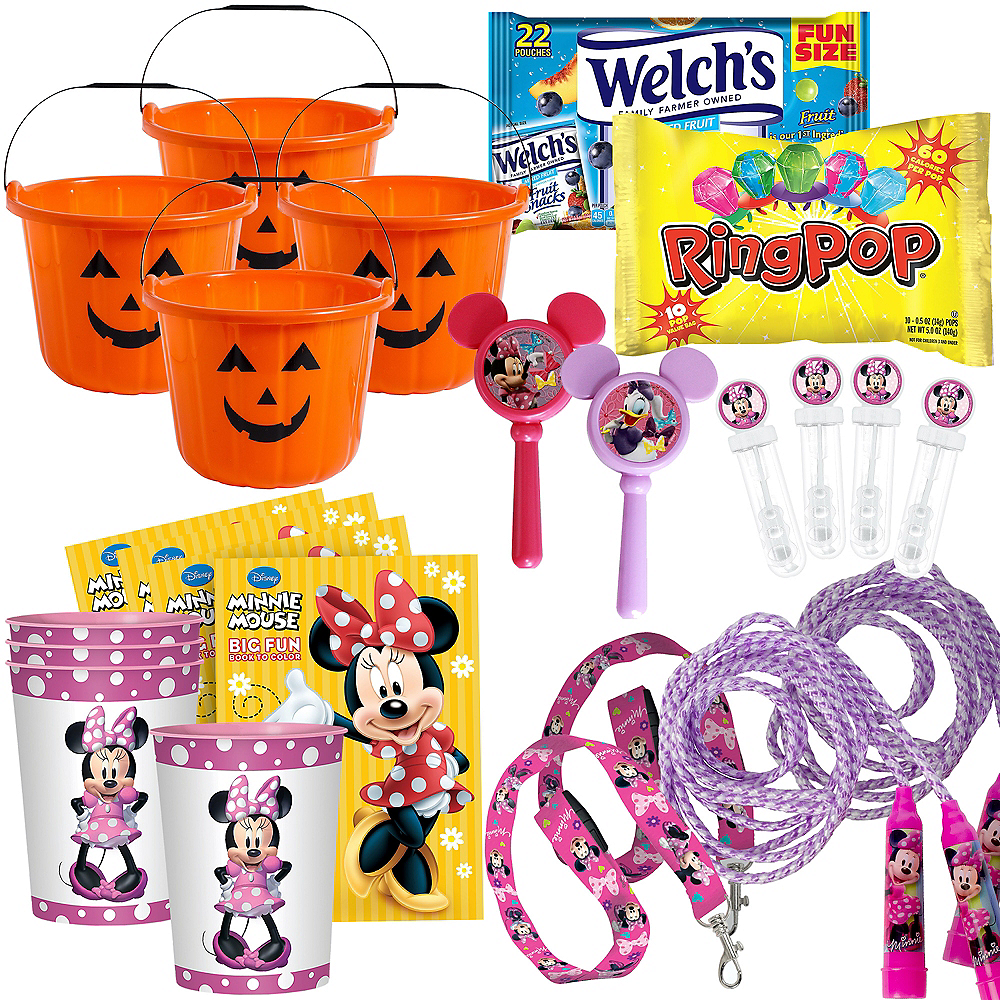 Minnie Mouse Halloween Boo Kit for 4 Guest Image #1