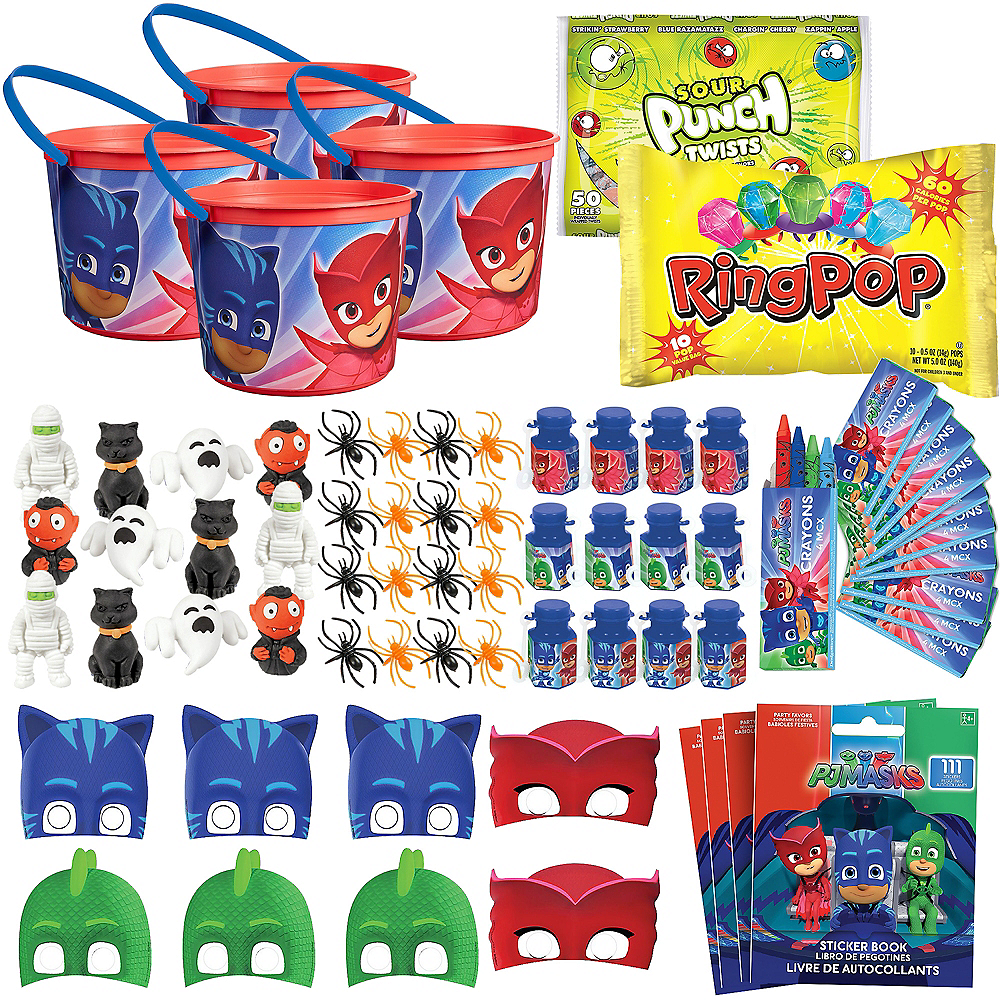 PJ Masks Halloween Boo Kit for 4 Guest Image #1