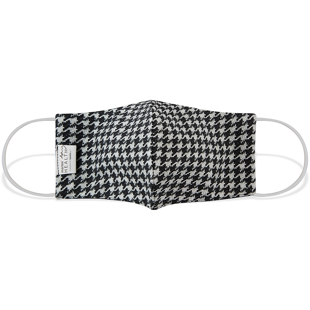 Houndstooth Face Mask for Adults Image #1