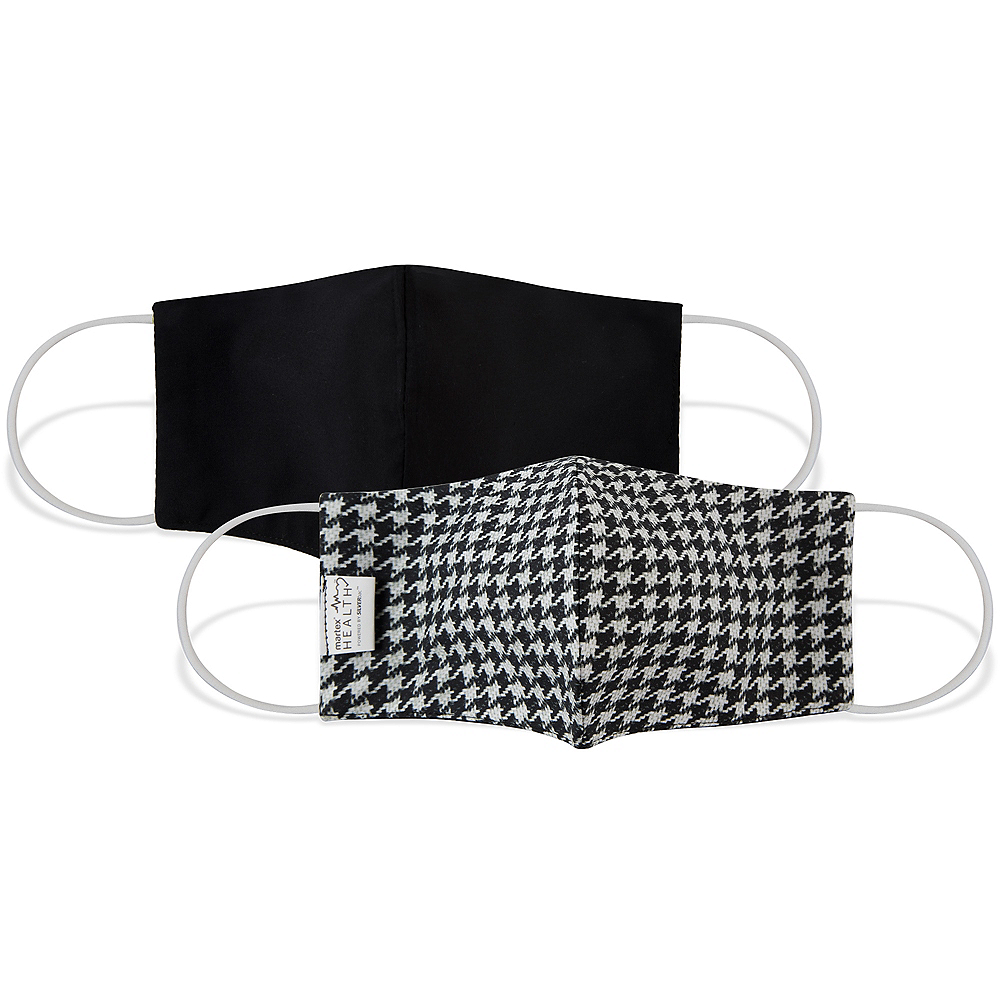 Houndstooth Face Mask for Adults Image #2