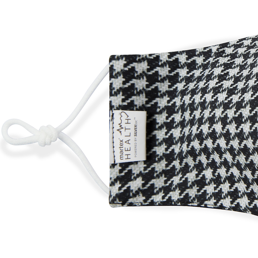 Houndstooth Face Mask for Adults Image #3