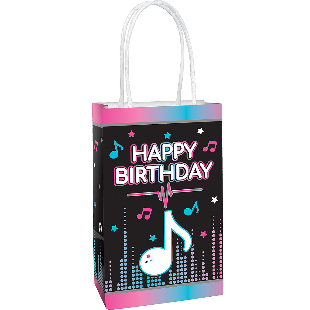Internet Famous Birthday Favor Bags 8ct Image #1