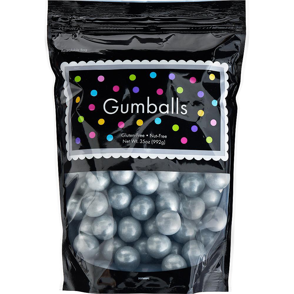 Silver Gumballs, 35oz - Fruit Flavor Image #1