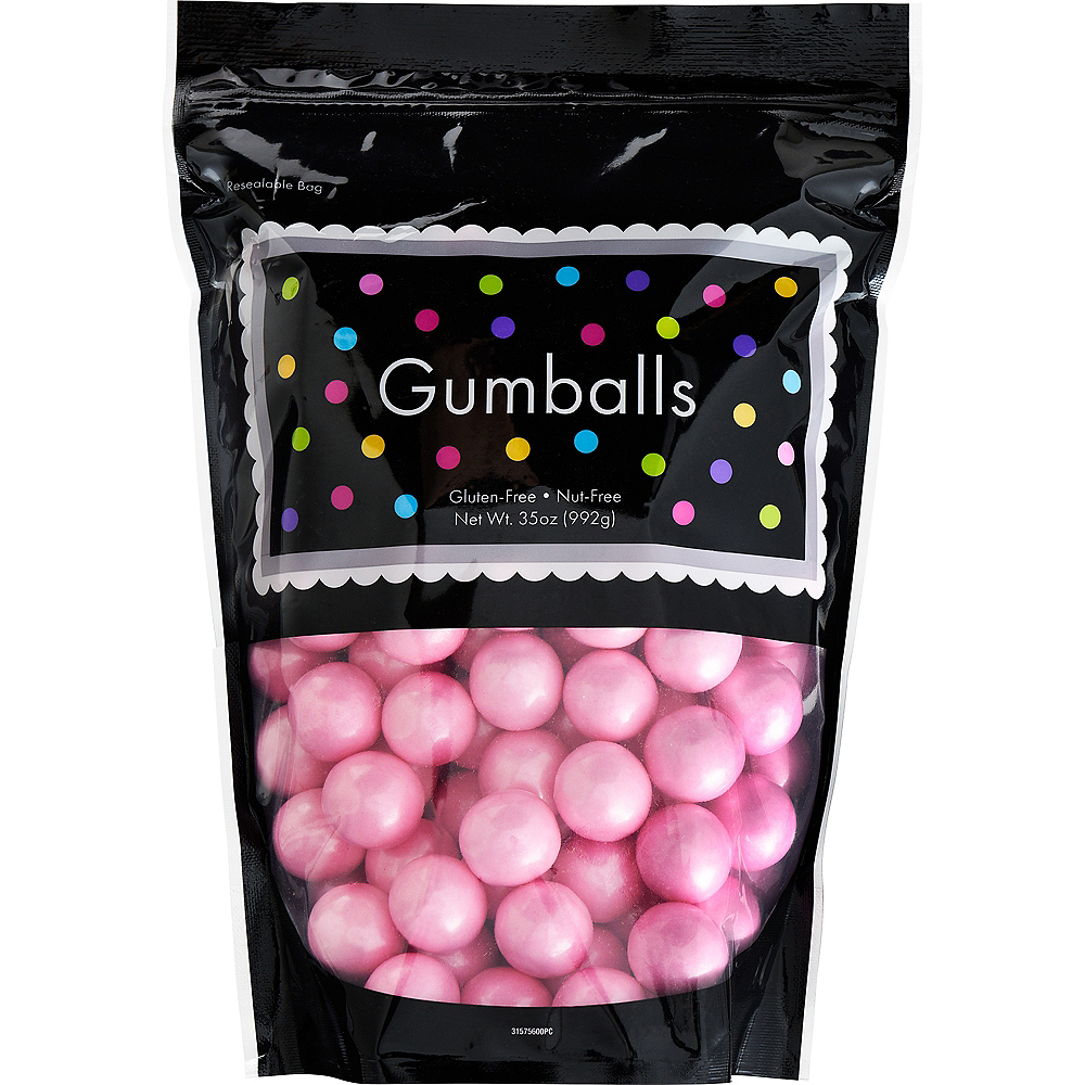 Pink Gumballs, 35oz - Strawberry Flavor Image #1