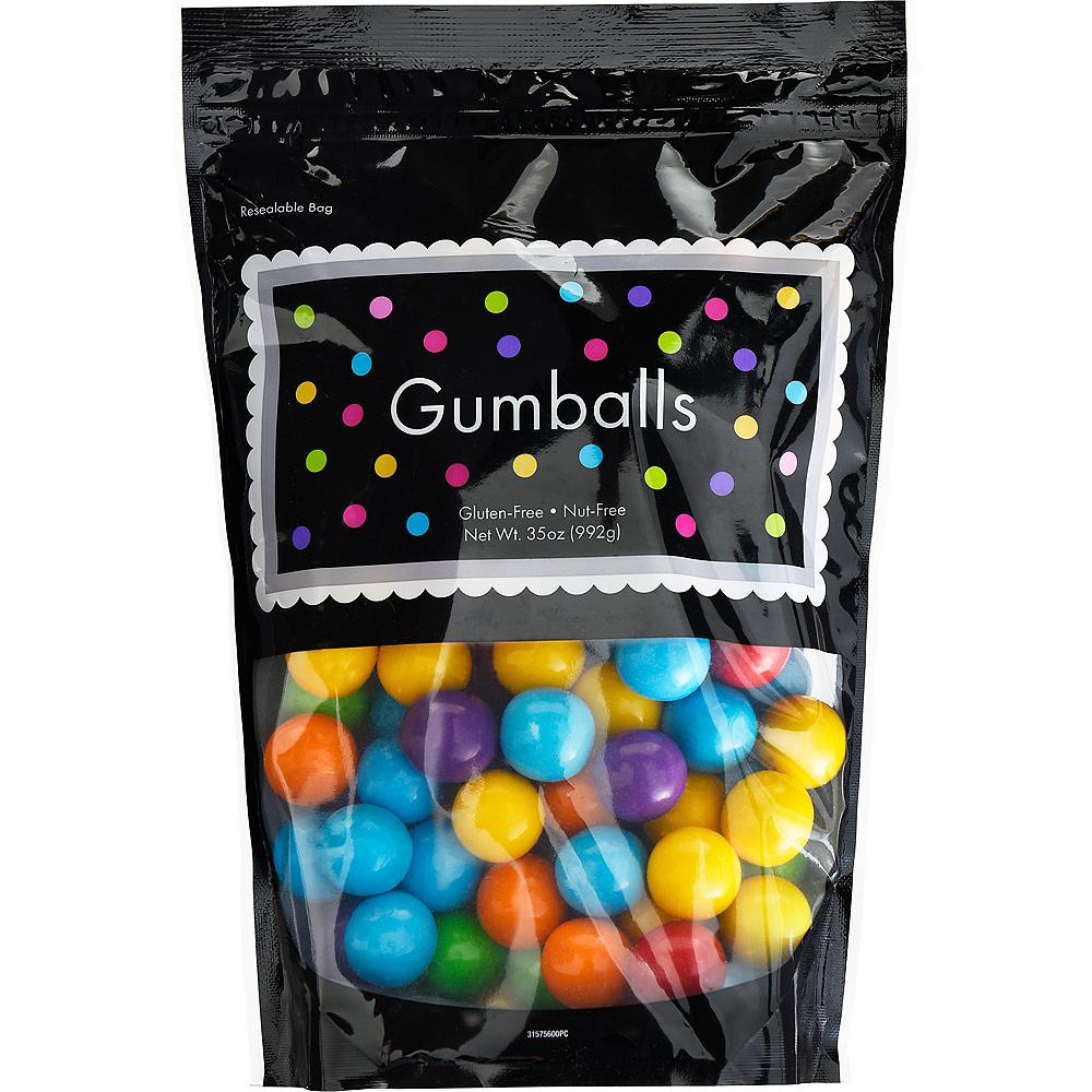 Rainbow Gumballs, 35oz - Assorted Flavors Image #1