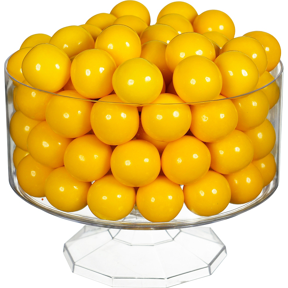 Yellow Gumballs, 35oz - Banana Flavor Image #2