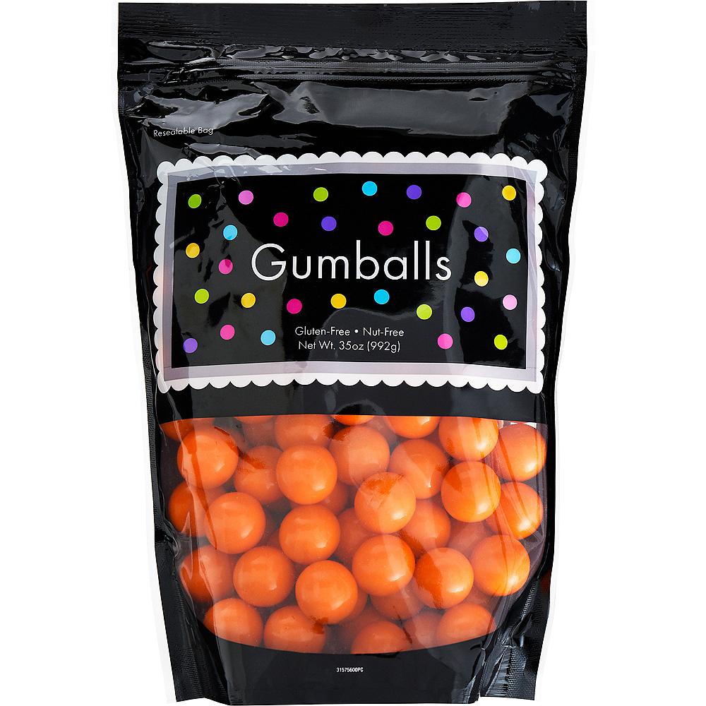 Orange Gumballs, 35oz - Orange Flavor Image #1