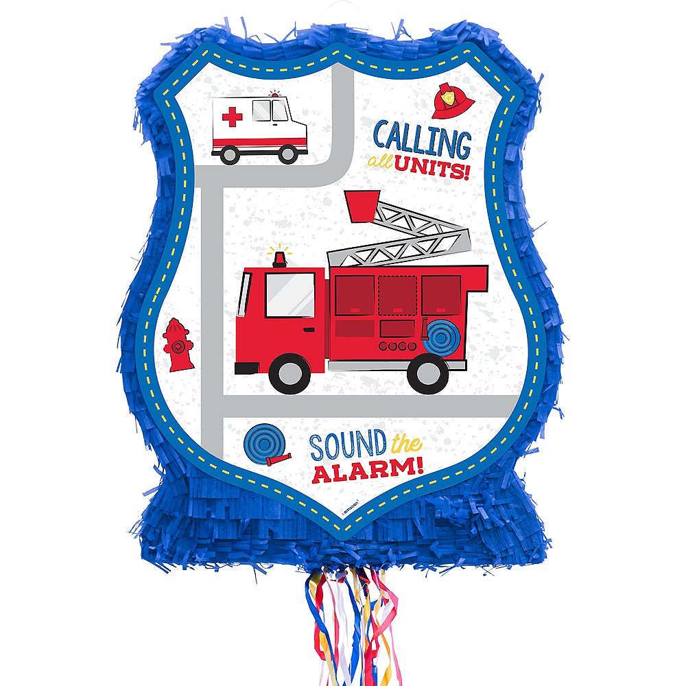 Pull String First Responders Pinata Image #1