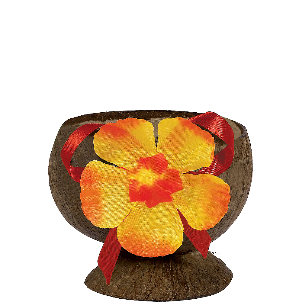 Decorated Coconut Cup Image #1