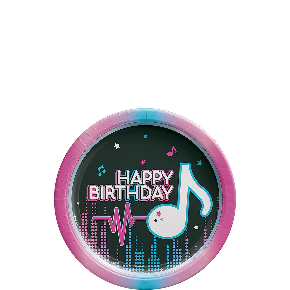 Internet Famous Birthday Tableware Kit for 16 Guests Image #2