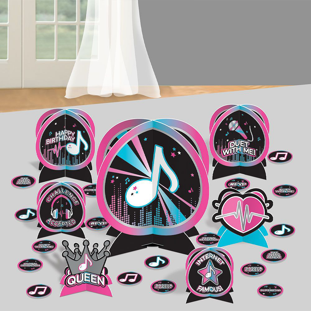 Internet Famous Birthday Tableware Kit for 16 Guests Image #10