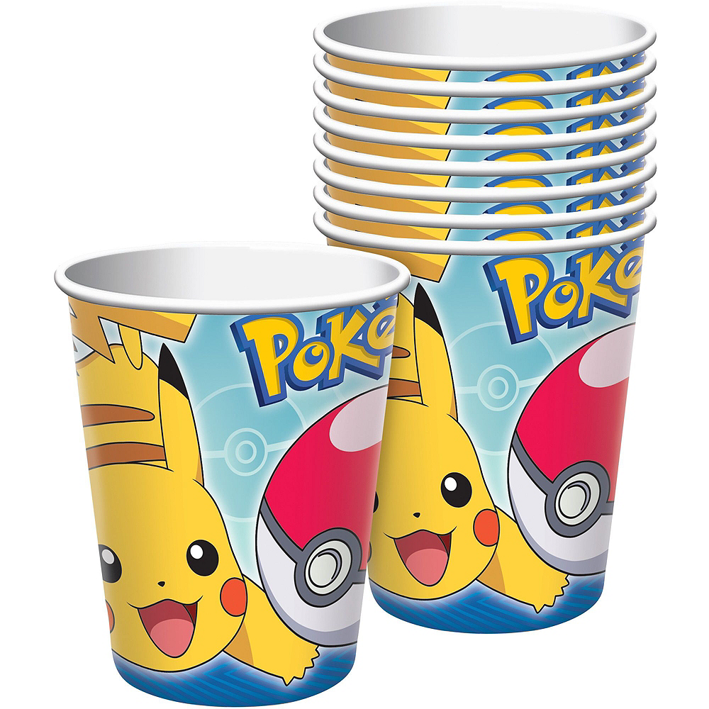 Classic Pokemon Birthday Party Kit for 8 Guests Image #4