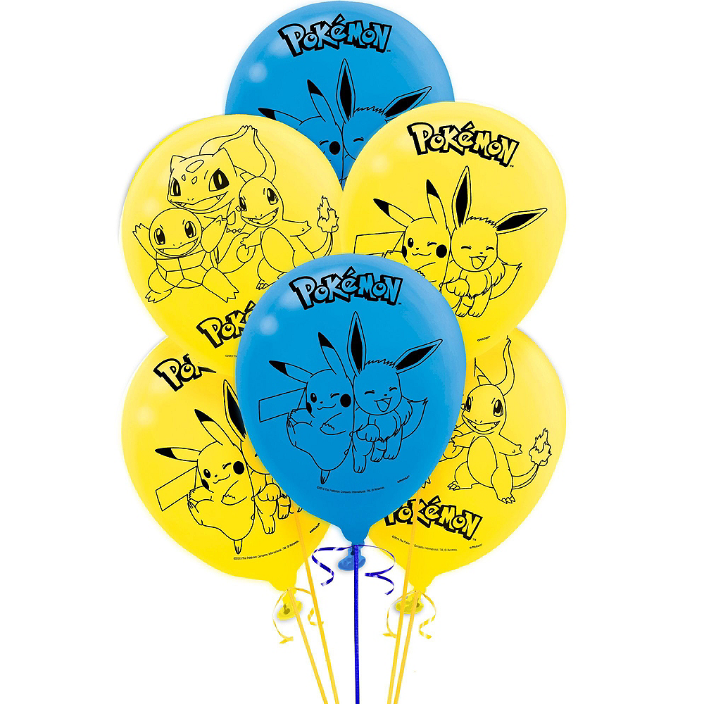 Classic Pokemon Birthday Party Kit for 8 Guests Image #7