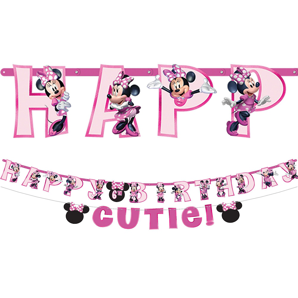 Minnie Mouse Forever Birthday Party Kit for 8 Guests Image #6