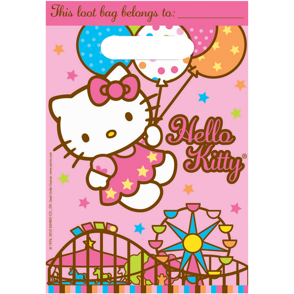 Hello Kitty Favor Bags   Party City Canada be94f88024