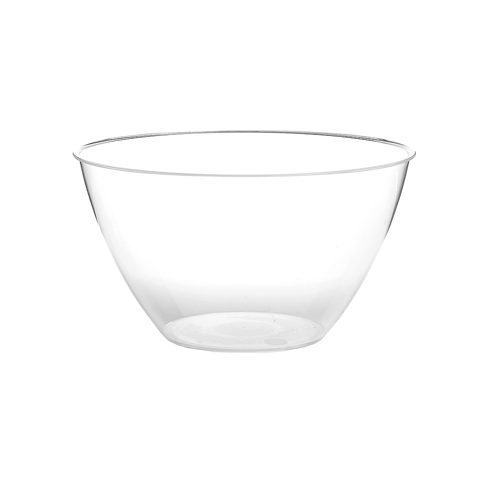 Small CLEAR Plastic Bowl Image #1