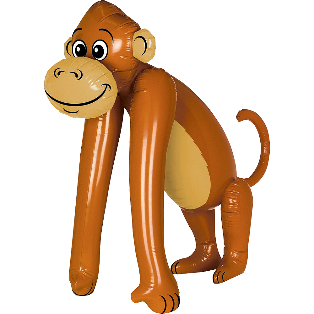 Nav Item for Inflatable Monkey Image #1