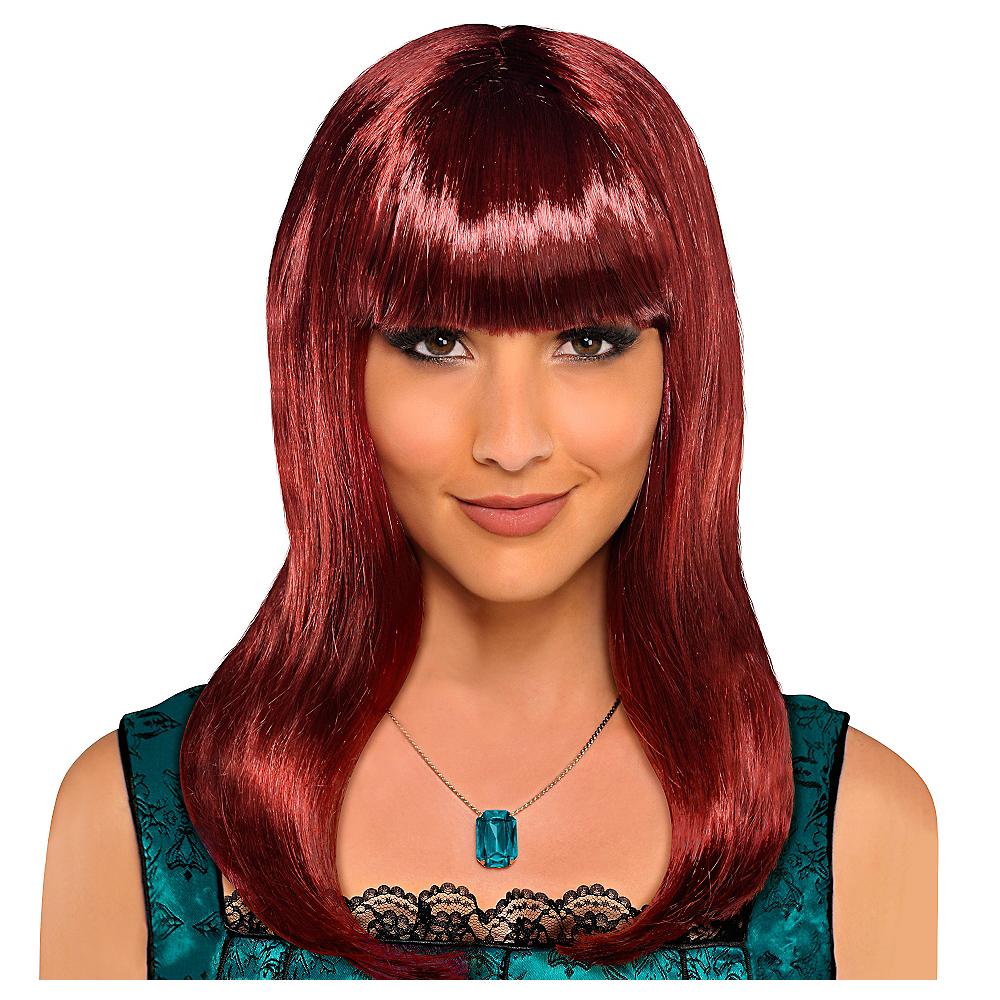 Classic Beauty Long Auburn Wig Image #1