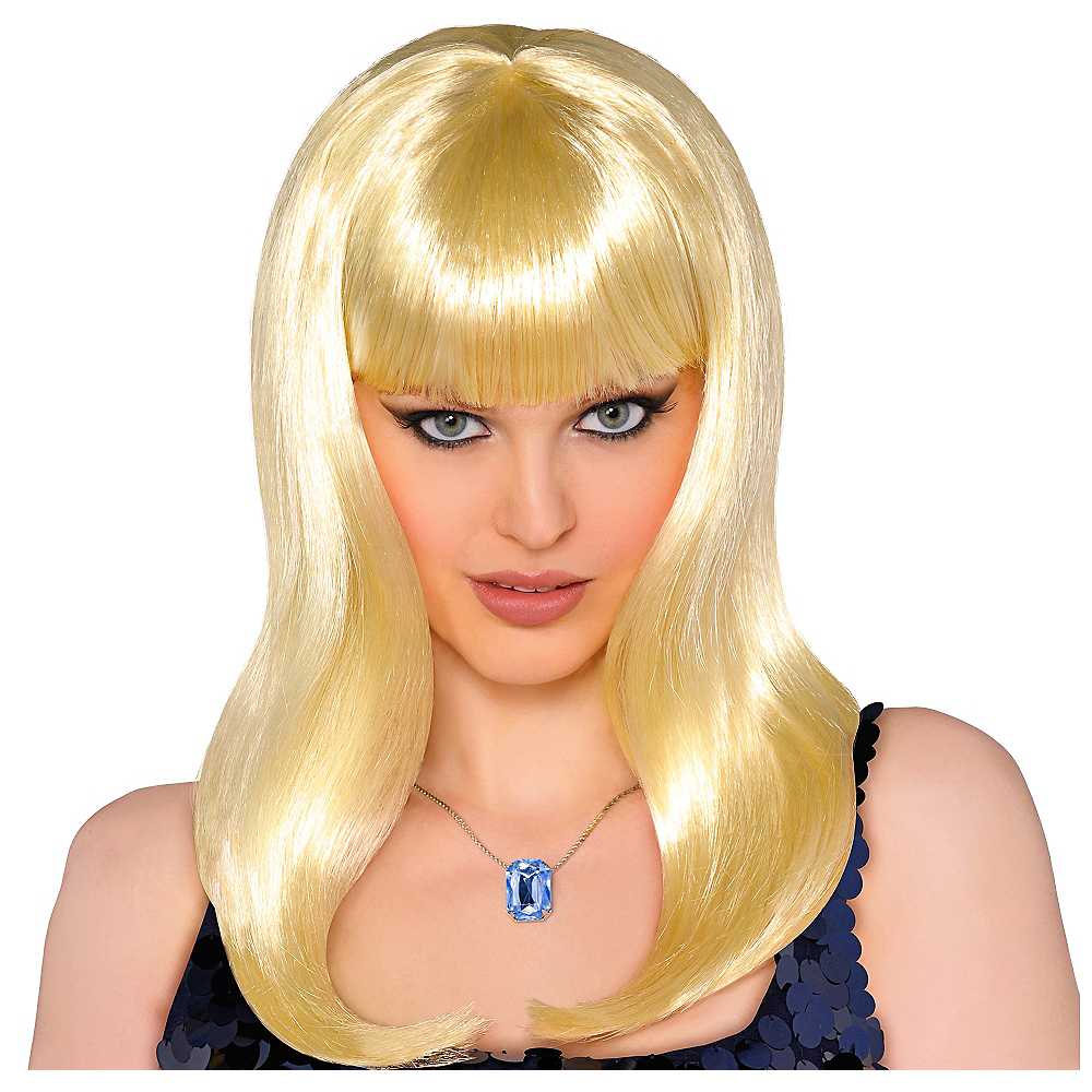 Classic Beauty Long Blonde Wig Image #1