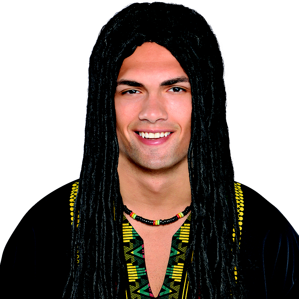 rasta wig party city