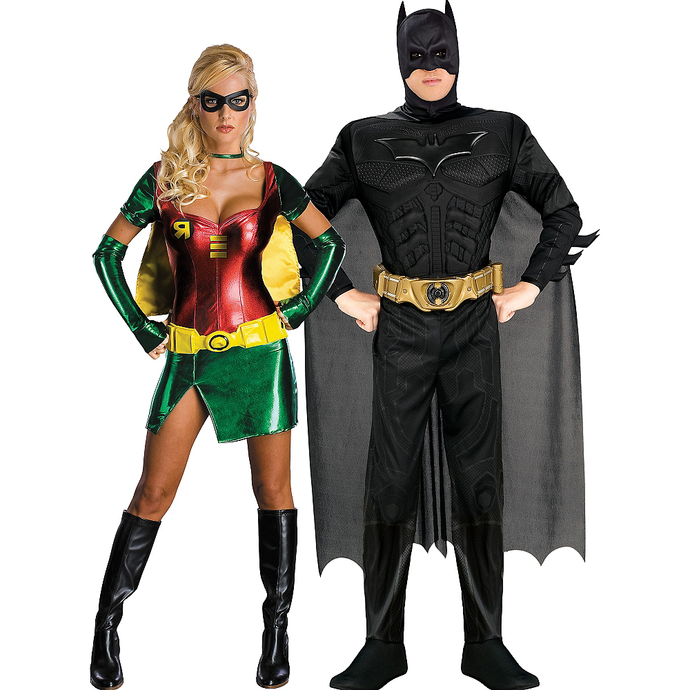 Adult Batman & Robin Couples Costumes