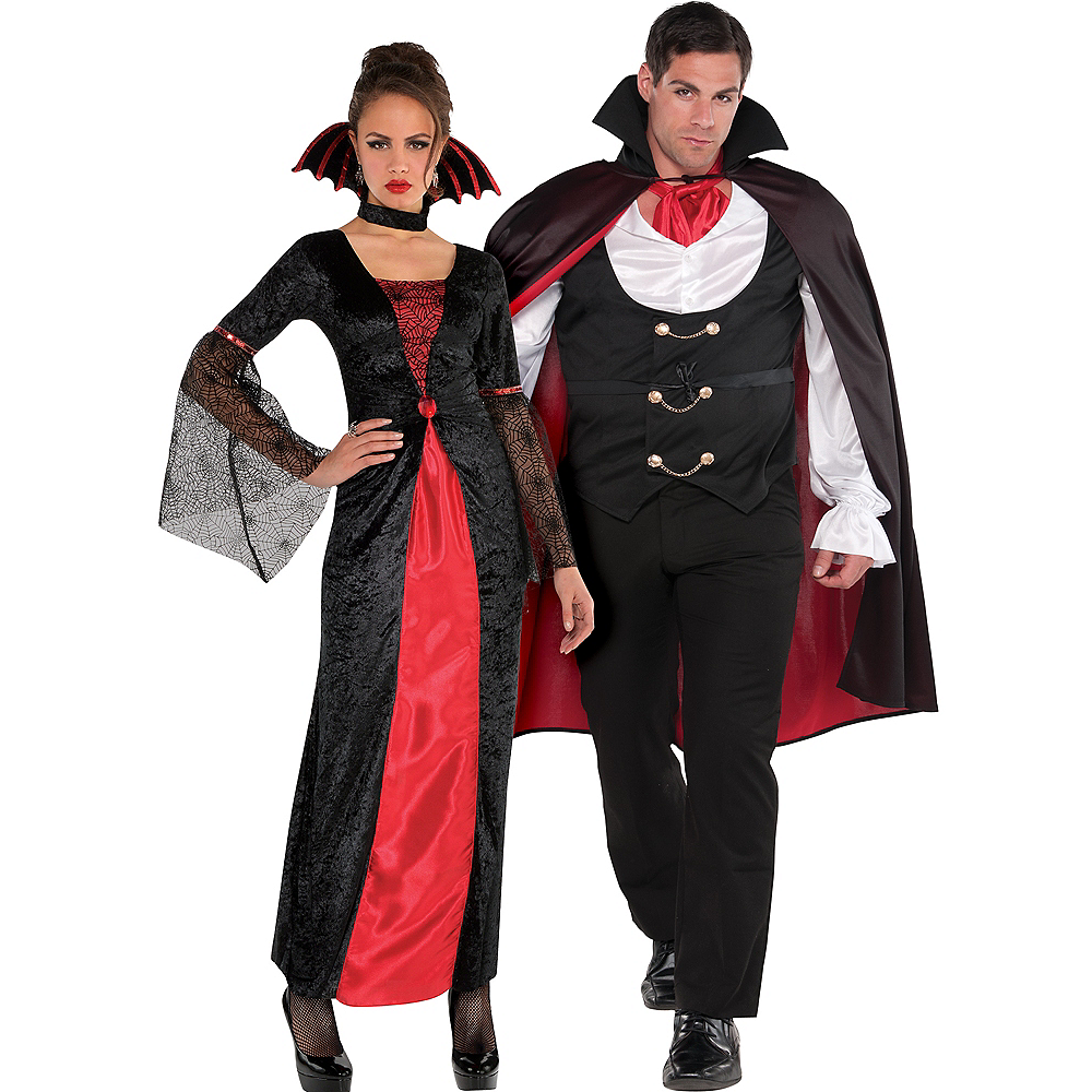 adult countess vampiretta vampire true vampire couples costumes image 1